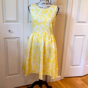 Monsoon Sunshine yellow textured dress 8